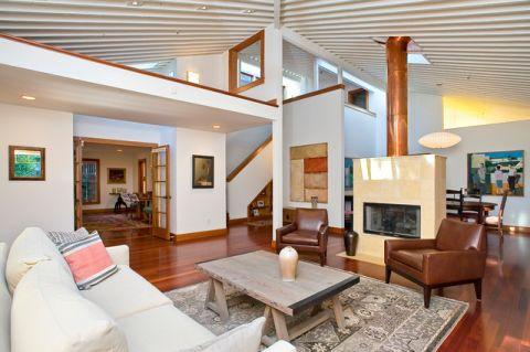客厅外墙现代风格装潢设计图片