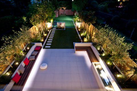 花园现代风格装饰效果图