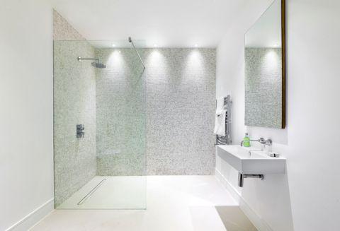 卫生间白色细节现代风格效果图