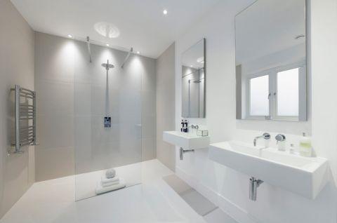 卫生间白色细节现代风格装修效果图