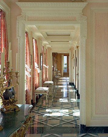 彩色走廊现代风格装修效果图