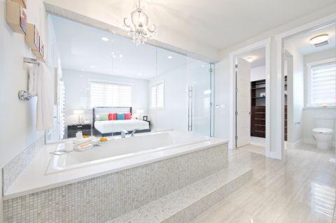 卫生间浴缸现代风格装潢图片