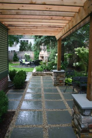 特立独行现代风格花园装修效果图