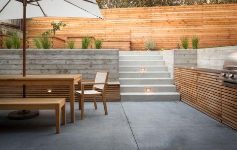 阳台外墙现代风格装修设计图片