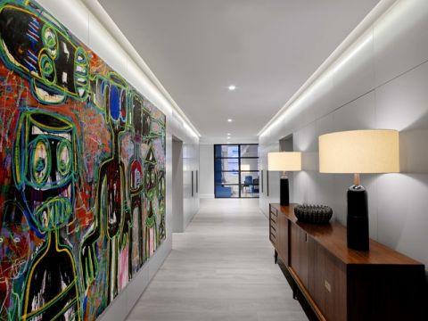 走廊现代风格装饰图片