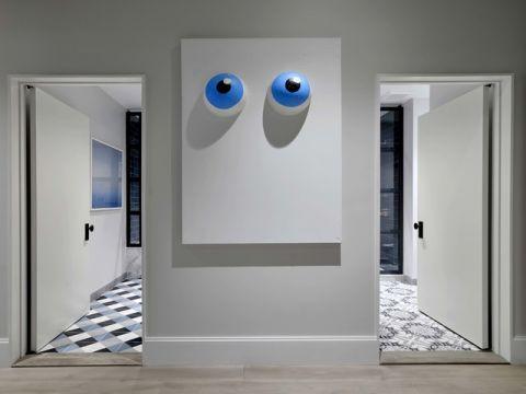 卧室走廊现代风格装潢图片
