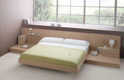 卧室床现代风格装饰设计图片