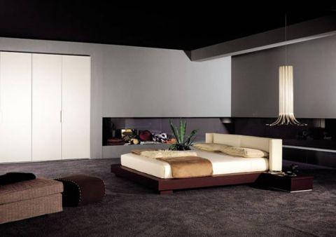 卧室床现代风格效果图