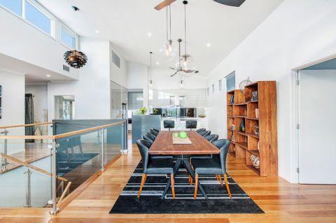 餐厅餐桌现代风格装潢设计图片