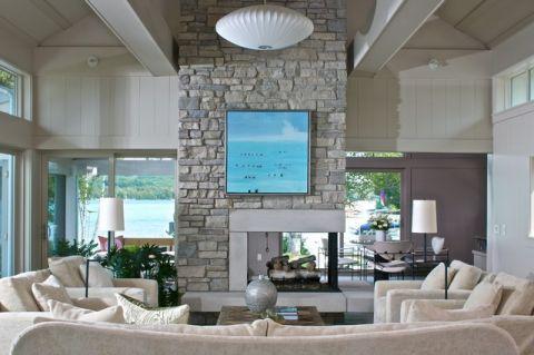 充满活力现代风格客厅装修效果图_土拨鼠2017装修图片大全