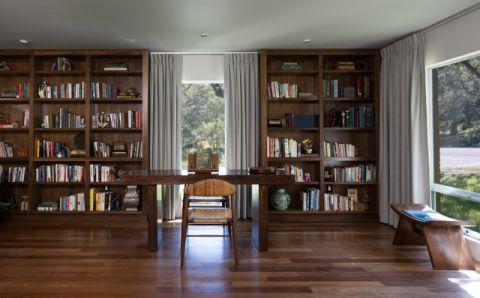 书房现代风格装修效果图