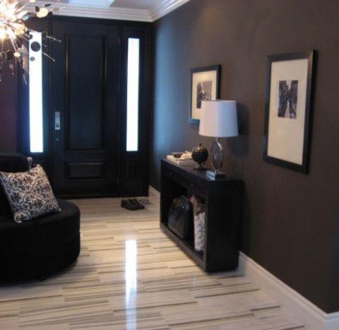 玄关门厅现代风格装潢设计图片