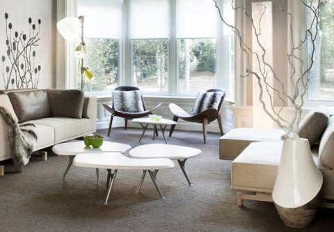 2019现代150平米效果图 2019现代一居室装饰设计