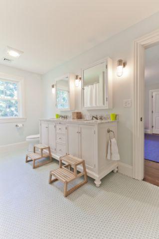 精致美式风格卫生间装修效果图