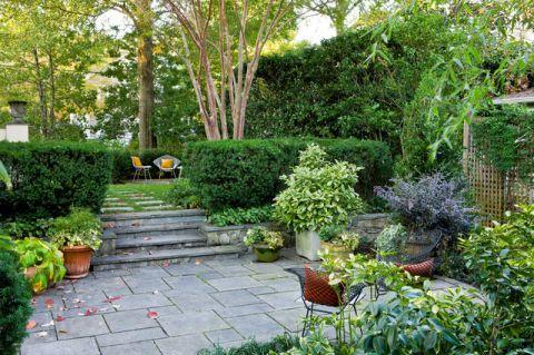 浪漫迷人美式风格花园装修效果图