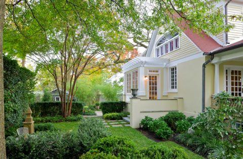 花园外墙美式风格效果图