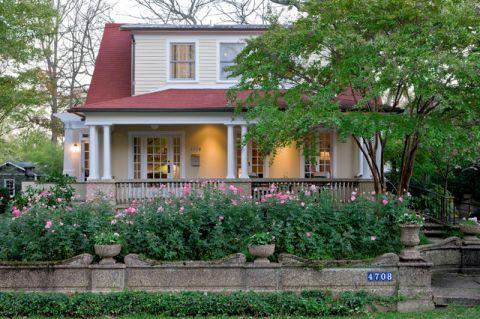 花园外墙美式风格装饰效果图
