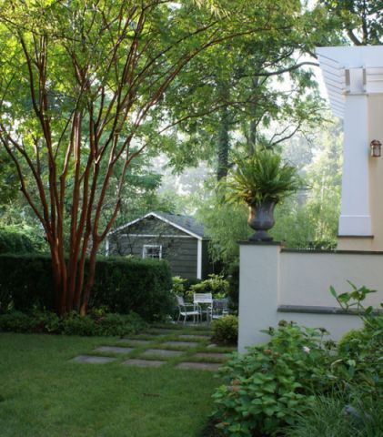 花园外墙美式风格装潢效果图