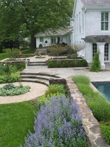 品质生活美式风格花园装修效果图