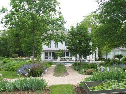 花园地砖美式风格装潢设计图片