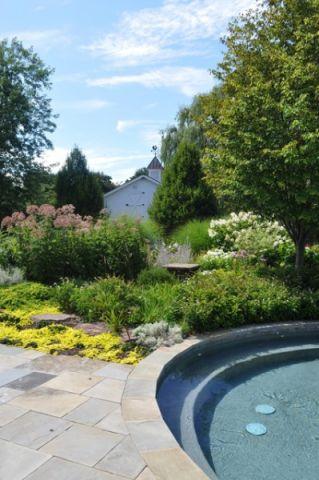 花园地砖美式风格装潢效果图
