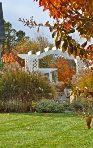 自然写意美式风格花园装修效果图