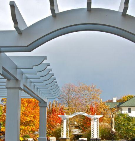 花园外墙美式风格装修设计图片