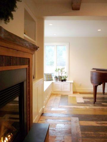 客厅白色飘窗美式风格效果图