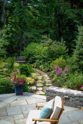 花园走廊美式风格装饰效果图