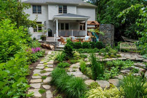 特立独行美式风格花园装修效果图