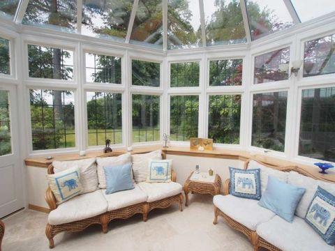 阳光房沙发简欧风格装修图片