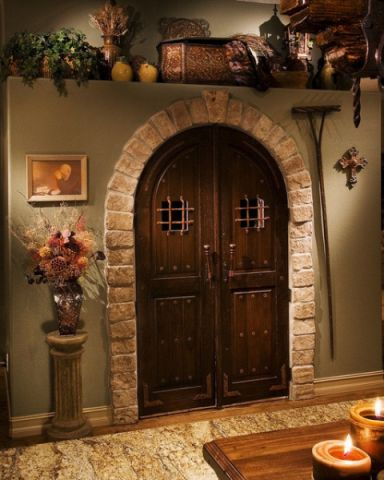 厨房门厅简欧风格装饰效果图
