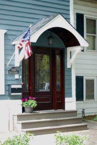 玄关红色门厅简欧风格装饰效果图