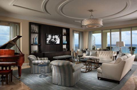 客厅简欧风格效果图