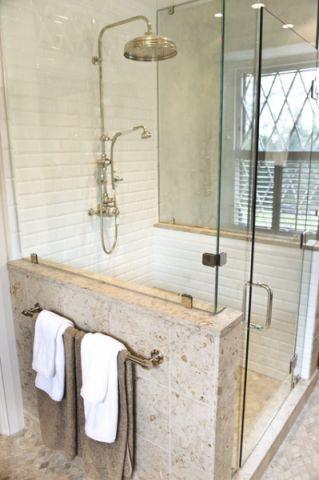 浴室细节简欧风格装修设计图片