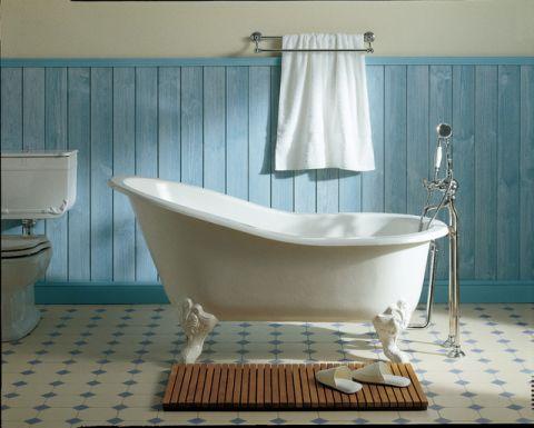 完美舒适简欧风格浴室装修效果图_土拨鼠2017装修图片大全