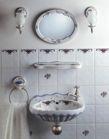 浴室细节简欧风格装修图片