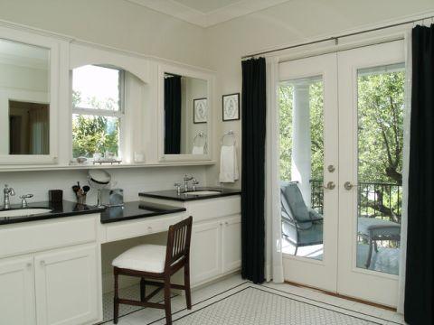 卫生间橱柜简欧风格装修设计图片