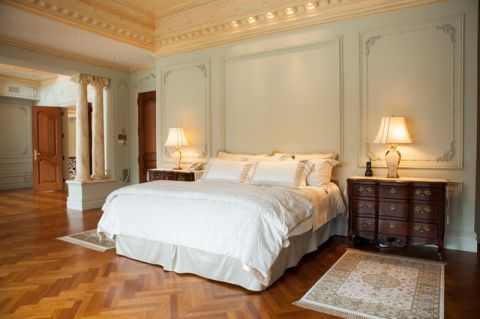 温馨舒适简欧风格卧室装修效果图