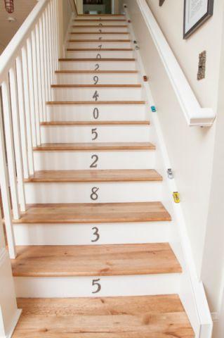 玄关咖啡色楼梯混搭风格装潢图片