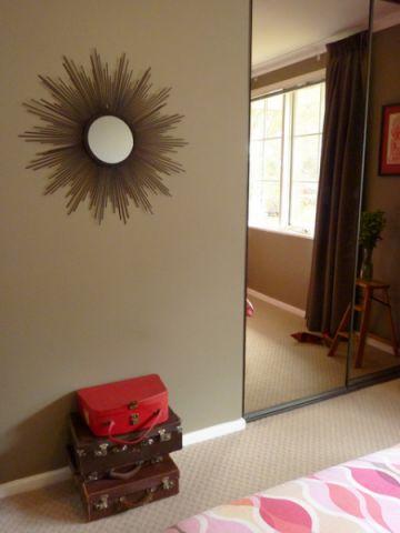 卧室咖啡色细节混搭风格装饰效果图