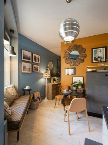 厨房灰色细节混搭风格装潢设计图片