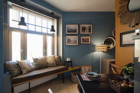 厨房蓝色飘窗混搭风格装饰效果图