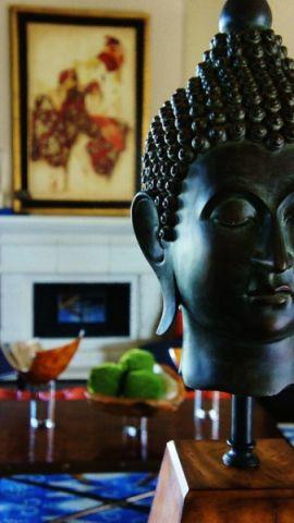 客厅黑色细节混搭风格装饰效果图