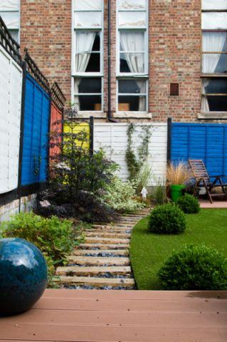 井井有条混搭风格花园装修效果图