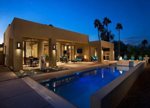 外景泳池现代风格装饰图片