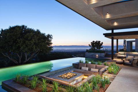 花园沙发现代风格装修效果图