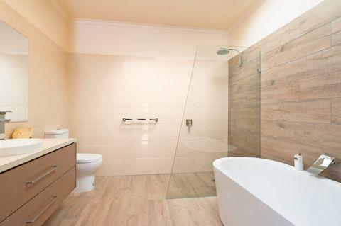 浴室米色细节现代风格装修图片