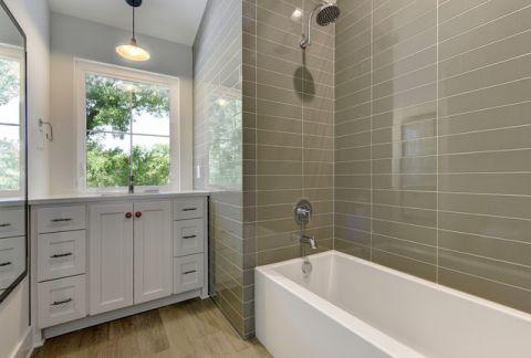 浴室灰色细节现代风格装饰效果图