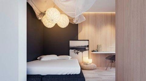 卧室细节简约风格装饰图片